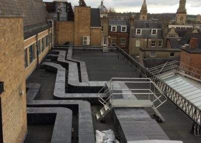 External Ductwork weatherproofed with PIB